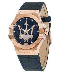 マセラティ ポテンザ石英 R8851108027 メンズ腕時計