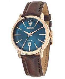 マセラティ刊行物に掲載石英 R8851118001 メンズ腕時計