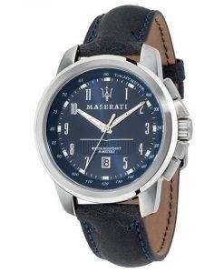 マセラティ Successo タキメーター石英 R8851121003 メンズ腕時計