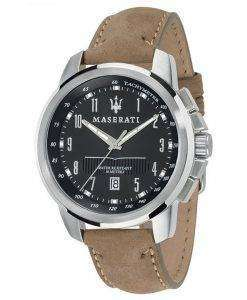 マセラティ Successo タキメーター石英 R8851121004 メンズ腕時計
