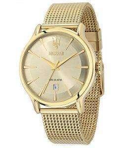 マセラティ刊行物に掲載石英 R8853118003 メンズ腕時計