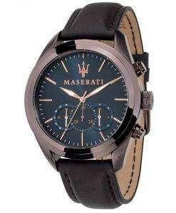 マセラティ Traguardo クロノグラフ クォーツ R8871612008 メンズ腕時計