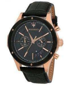 マセラティ日クロノグラフ クォーツ R8871627001 メンズ腕時計