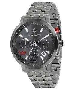 マセラティ グラン グランツーリスモ クロノグラフ クォーツ R8873134001 メンズ腕時計