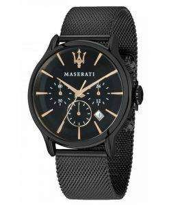 マセラティ刊行物に掲載クロノグラフ クォーツ R8873618006 メンズ腕時計