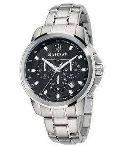 マセラティ Successo クロノグラフ タキメーター石英 R8873621001 メンズ腕時計