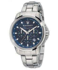 マセラティ Successo クロノグラフ タキメーター石英 R8873621002 メンズ腕時計