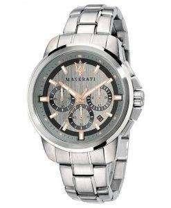 マセラティ Successo クロノグラフ クォーツ R8873621004 メンズ腕時計