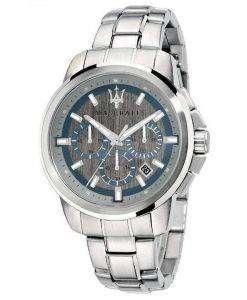 マセラティ Successo クロノグラフ クォーツ R8873621006 メンズ腕時計