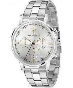 マセラティ Eleganza クロノグラフ クォーツ R8873630002 メンズ腕時計