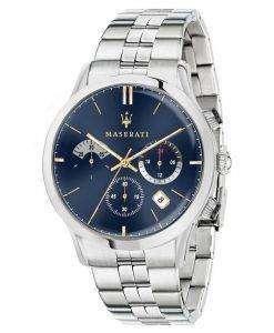 マセラティ Ricordo クロノグラフ クォーツ R8873633001 メンズ腕時計