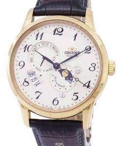 太陽の方向を設定し、月の自動 RA AK0002S10B メンズ腕時計