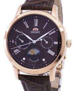 太陽の方向を設定し、月の水晶 RA KA0002Y10B レディース腕時計