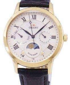 太陽の方向を設定し、月の水晶 RA KA0003S10B レディース腕時計