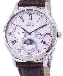 太陽の方向を設定し、月の水晶 RA KA0005A10B レディース腕時計