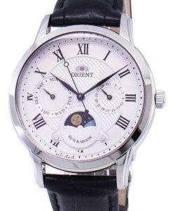 太陽の方向を設定し、月の水晶 RA KA0006S10B レディース腕時計