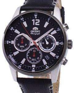 オリエント クロノグラフ クオーツ RA KV0005B10B メンズ時計