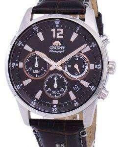 オリエント クロノグラフ クオーツ RA KV0006Y10B メンズ時計
