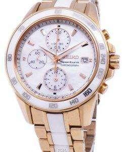 セイコー Sportura クロノグラフ クォーツ SNDW98 SNDW98P1 SNDW98P レディース腕時計