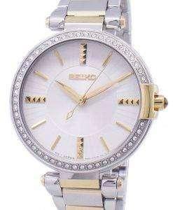 セイコーのアナログ クオーツ ダイヤモンド アクセント SRZ516 SRZ516P1 SRZ516P レディース腕時計