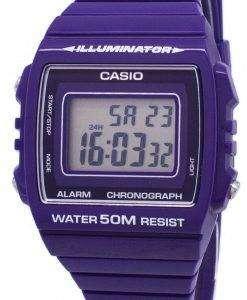 カシオ青少年デジタル アラーム クロノグラフ W 215 H 6AVDF W 215 H 6AV ユニセックス腕時計