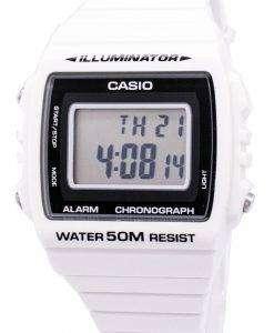 カシオ デジタル アラーム クロノグラフ W 215 H 7AVDF W 215 H 7AV ユニセックス腕時計
