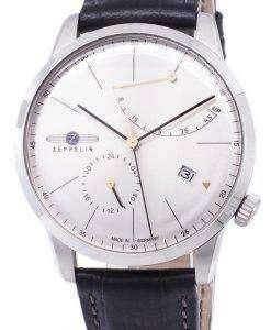 ツェッペリン型飛行船シリーズ死ぬパワー リザーブ ドイツ製 7366-4 73664 メンズ腕時計