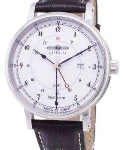 ツェッペリン型飛行船シリーズ ノルトシュテルン GMT ドイツ製 7546 1 75461 メンズ腕時計