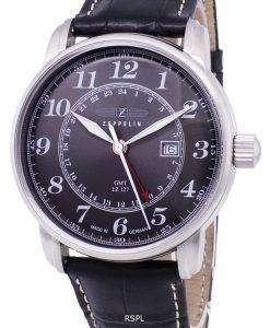ツェッペリン型飛行船シリーズ LZ127 グラーフ ドイツ製 7642-2 76422 メンズ腕時計
