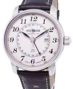 ツェッペリン型飛行船シリーズ LZ127 グラーフ ドイツ製 7642-5 76425 メンズ腕時計