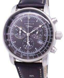 ツェッペリン 100 年 ED.1 ドイツ製 7680-2 76802 メンズ腕時計