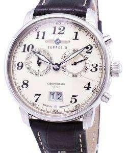 ツェッペリン型飛行船シリーズ LZ127 グラーフ ドイツ製 7684-5 76845 メンズ腕時計