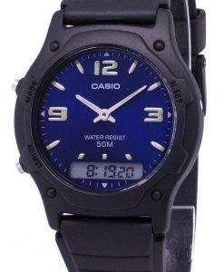 カシオ アナログ デジタル クオーツ デュアル タイム AW 49HE 2AVDF ダブリュ-49HE-2AV メンズ腕時計