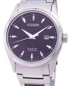 市民エコドライブ スーパー チタン BM7360 82E メンズ腕時計