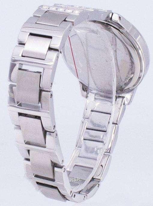 化石ジェシー銀結晶ホワイト ダイヤル ES2362 レディース腕時計
