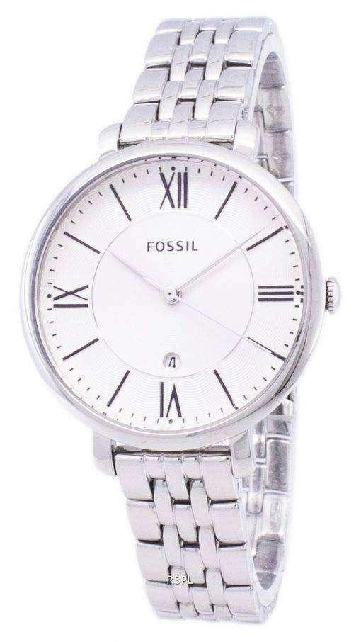化石ジャクリーン シルバー ダイヤル ステンレス鋼 ES3433 レディース腕時計