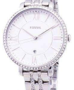 化石ジャクリーン水晶アクセント ES3545 レディース腕時計