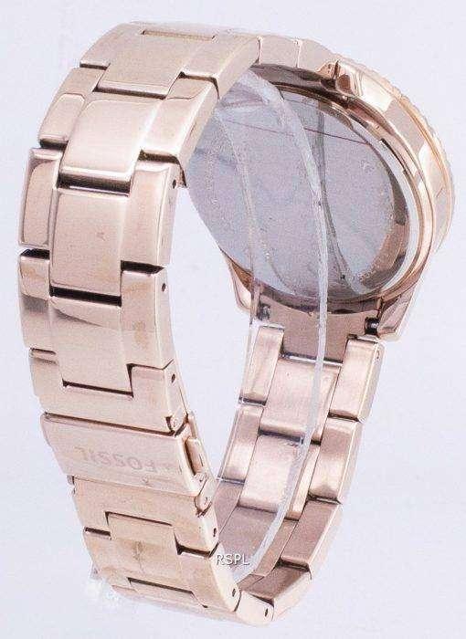化石ステラ マルチファンクションのクリスタルがアクセントの ES3590 レディース腕時計