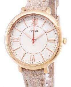 化石ジャクリーン石英 ES3802 レディース腕時計