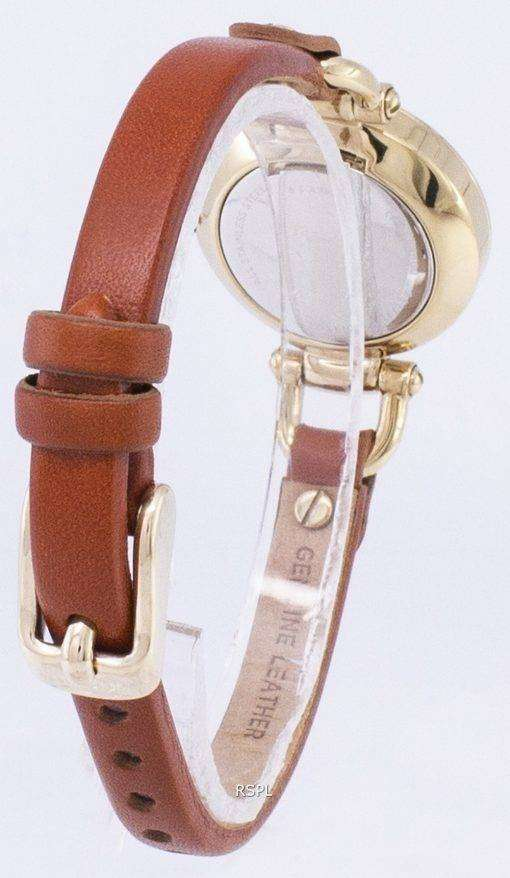 化石グルジア ミニ水晶 ES4000 レディース腕時計