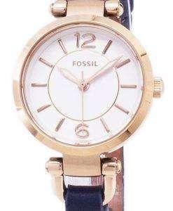 化石グルジア ミニ水晶 ES4026 レディース腕時計