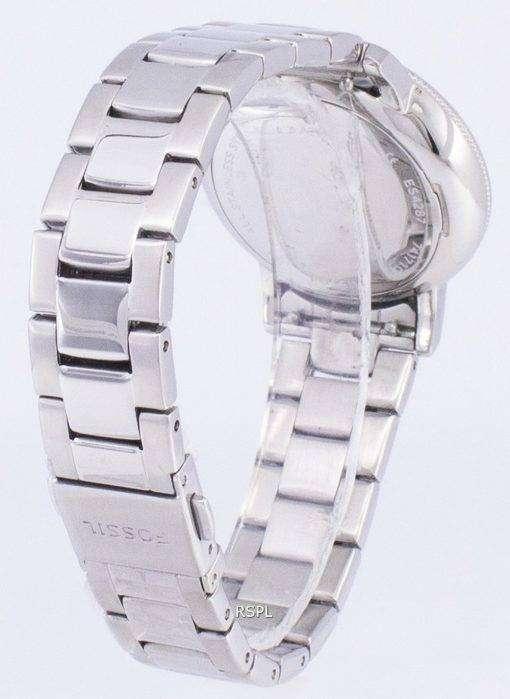 化石ニーリー水晶ダイヤモンド アクセント ES4287 レディース腕時計