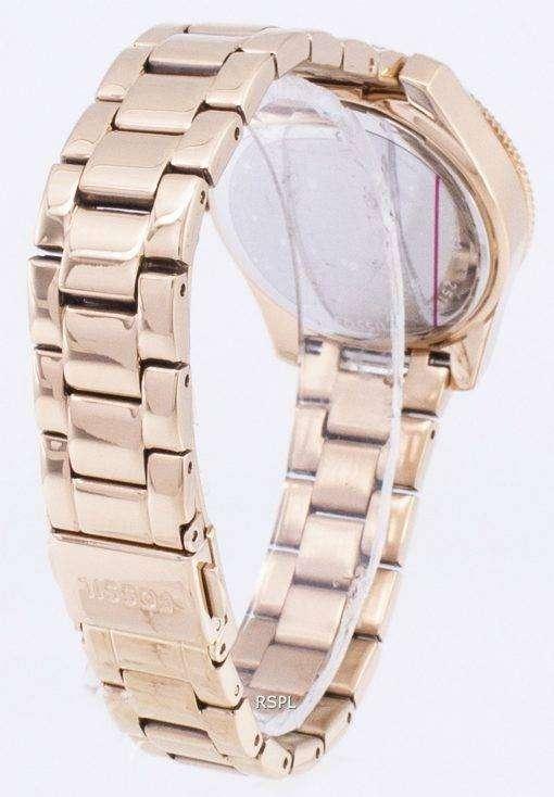 化石 Scarlette 水晶ダイヤモンド アクセント ES4318 レディース腕時計
