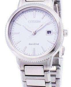 市民エコドライブ チャンドラー シルエット EW2370 57A レディース腕時計
