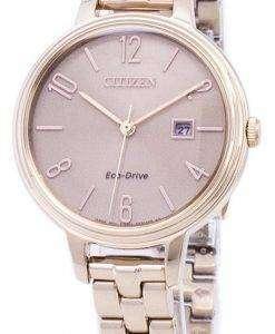 市民エコドライブ チャンドラー シルエット EW2443 - レディース腕時計 X 55
