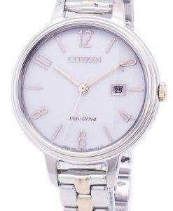 市民エコドライブ シルエット EW2446 57A レディース腕時計