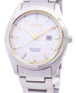 市民エコドライブ スーパー チタン EW2470 87B レディース腕時計