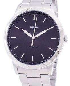 化石シンプルなスリム 3 H 石英 FS5307 メンズ腕時計