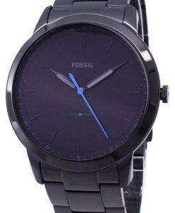 化石シンプルな 3 H 石英 FS5308 メンズ腕時計