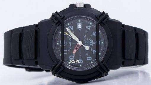 カシオ Enticer ブラック ダイヤルのアナログ HDA 600 b 1BVDF HDA 600 b 1BV メンズ腕時計